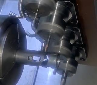 普森车铣复合机床工作视频